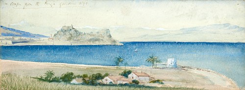 Herman Melville - View of the Old Fortress from the Palace of Mon Repos