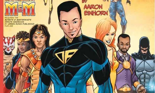 Scott Comics Character Roster Book