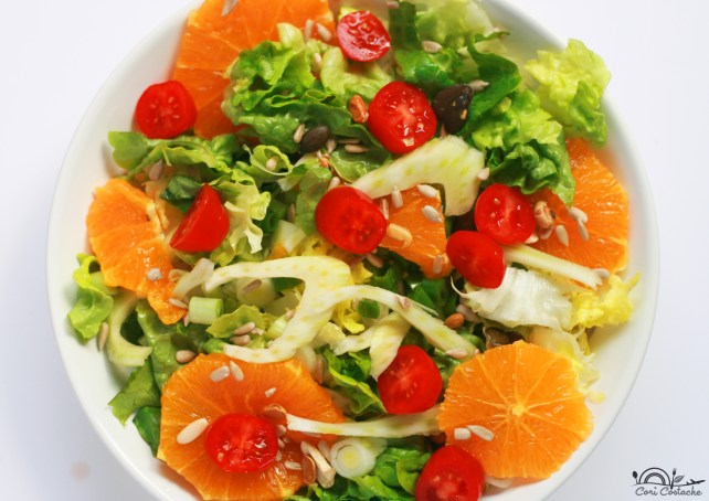 Mediterranean fennel and orange salad