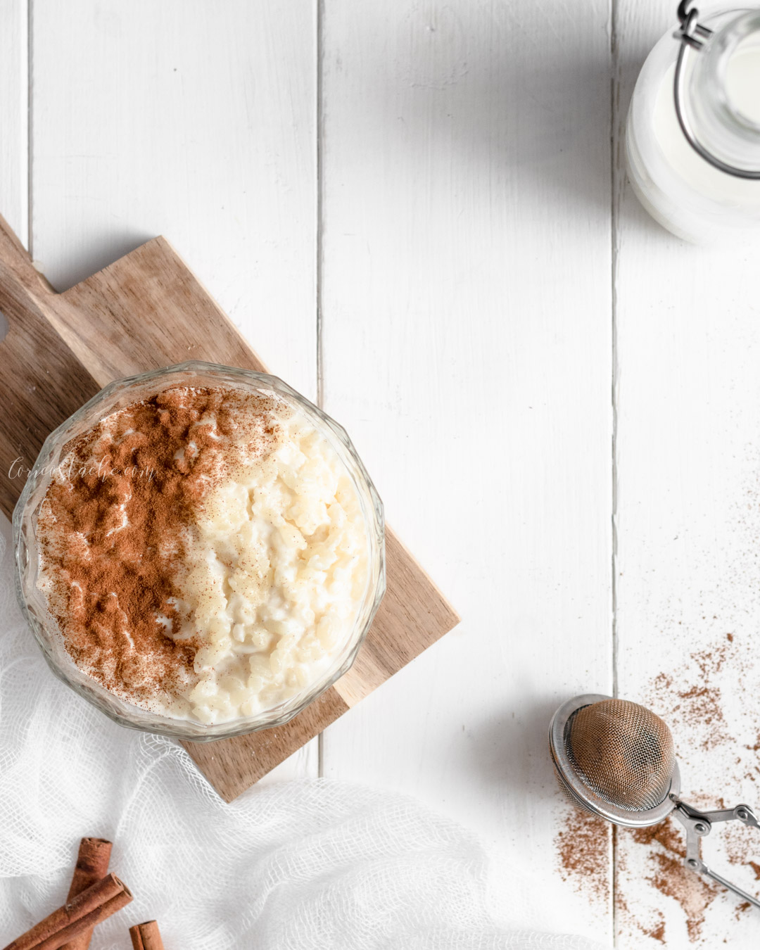 Traditional Romanian Rice Pudding