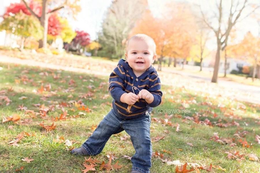Stow Ohio 1 Year Photographer | Happy Birthday Levi