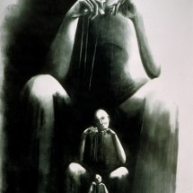 """Puppeteer — Lithography — 22"""" x 30"""" — $300"""