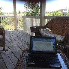 Changing the View for Writing