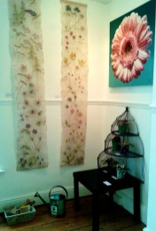 Display - 'Gardens and Flowers', Gallery Forty-Nine, Bridlington