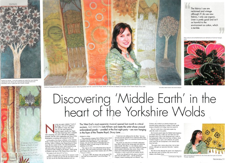 Article in The Journal, 2007