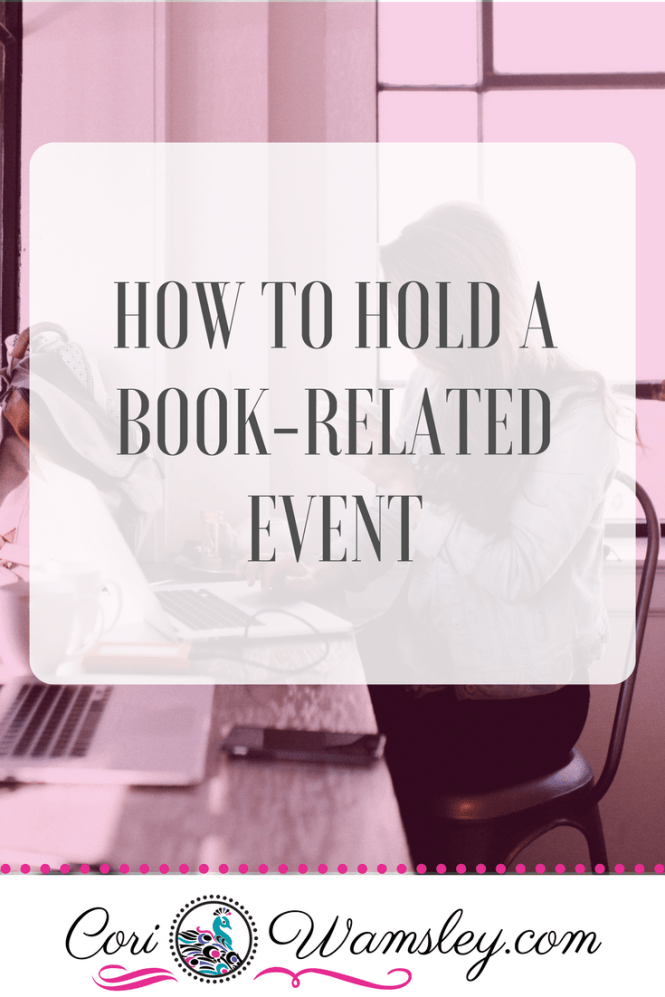 How to Hold a Book-Related Event
