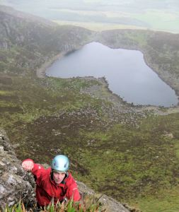 Overlooking Crotty's Lake, The Comeraghs