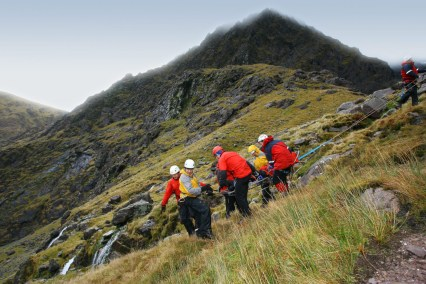 Kerry Mountain Rescue Team in Action