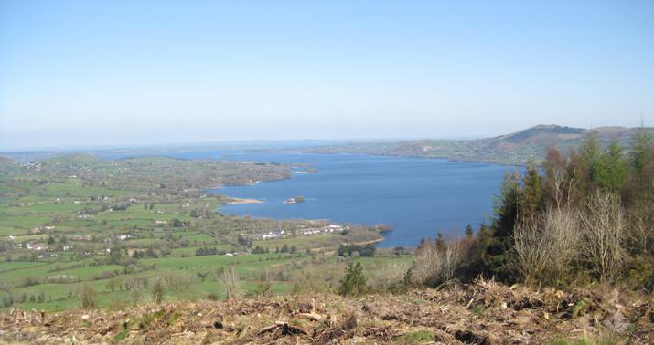 Views from Ballycuggaran on The East Clare Way