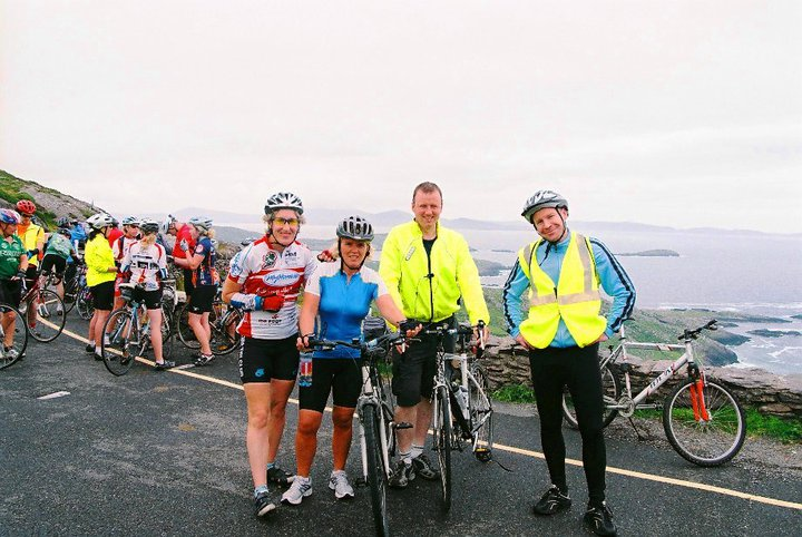 Lorraine on the Ring of Kerry Cycle