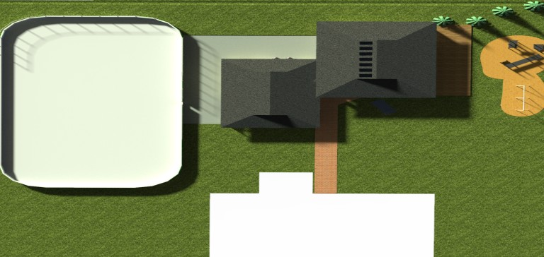 top view of proposed update