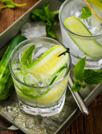Cool Cucumber Cocktail