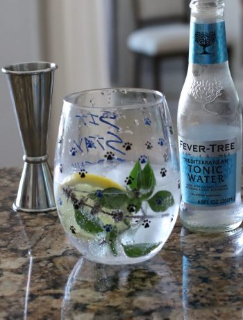 Gin and Tonic with Thai Basil