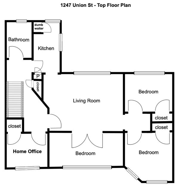 crg1105 top floor plan