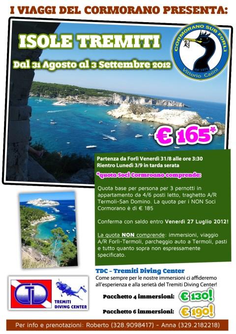 Viaggio di Settembre 2012 alle Isole Tremiti