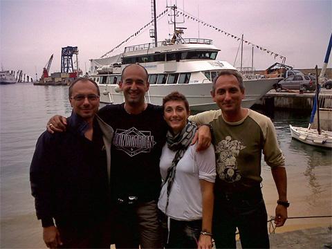 4 nuovi istruttori FIPSAS/CMAS alla Coramorano Sub Forlì