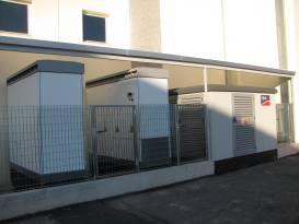 fotografie inverter centralizzato impianto fotovoltaico