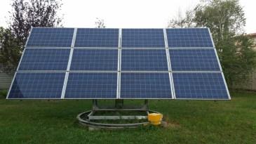 fotografie Inseguitore solare della nostra sede aziendale
