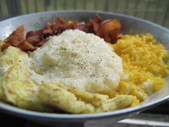 Cheese Grits Eggs