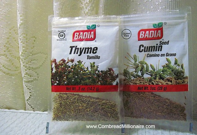 Thyme and Cumin
