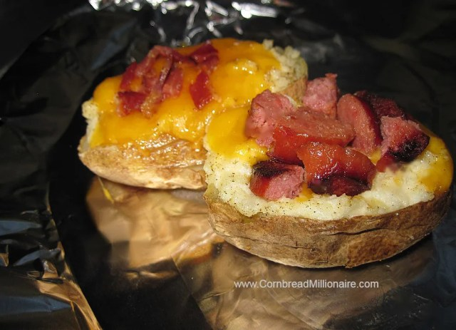 Twice Baked Potatoes (Lumpy or Smooth)