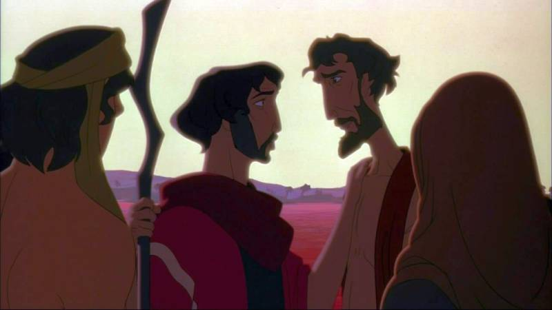 Image result for moses and aaron prince of egypt