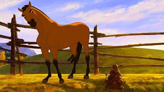 paint spirit stallion of the cimarron # 58