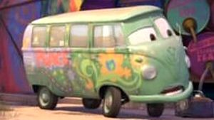 Cars  2006  Disney movie Fillmore   a 1960 VW Bus