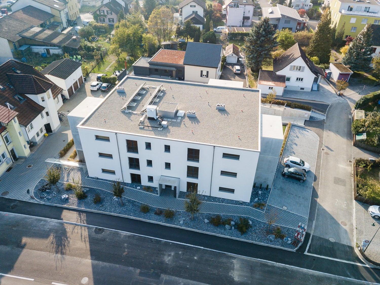 Immobilien Fotografie Drohne Luft
