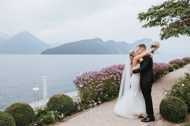 Hochzeitsfotos Brautpaar Vierwaltstättersee