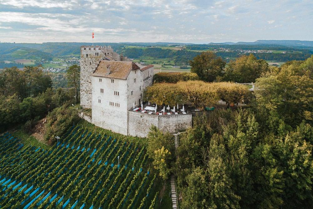 Schloss Habsburg Hochzeit Aargau