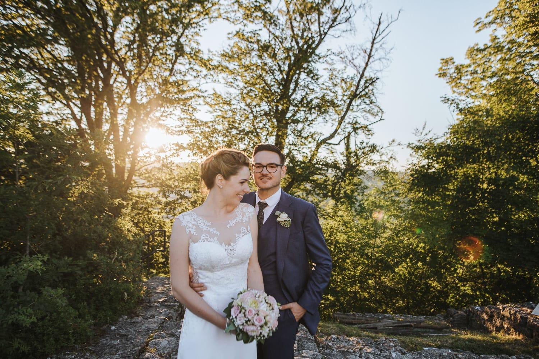 Hochzeitsfotograf Sonnenuntergang Habsburg