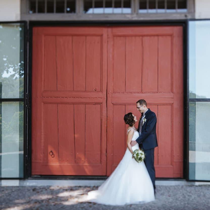 Hochzeit Tor Liebegg Brautpaar
