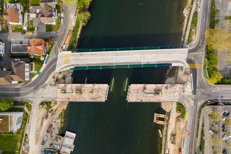 Kettenbrücke Abriss