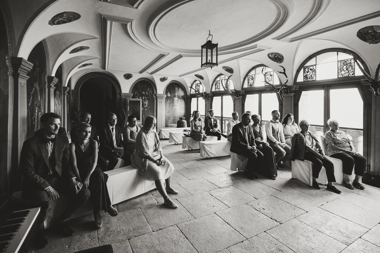 Gäste Schloss Wildegg Hochzeit