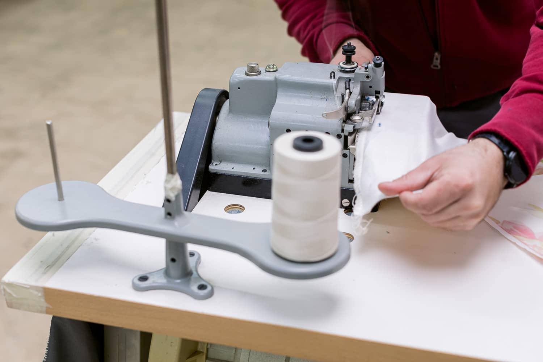 Unternehmen Maschinen Textilien