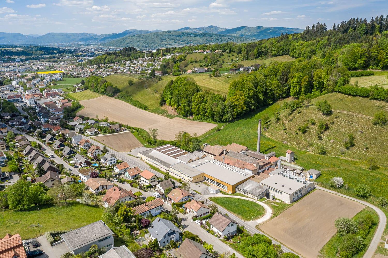 Luftaufnahme Drohne Zofingen Unternehmen