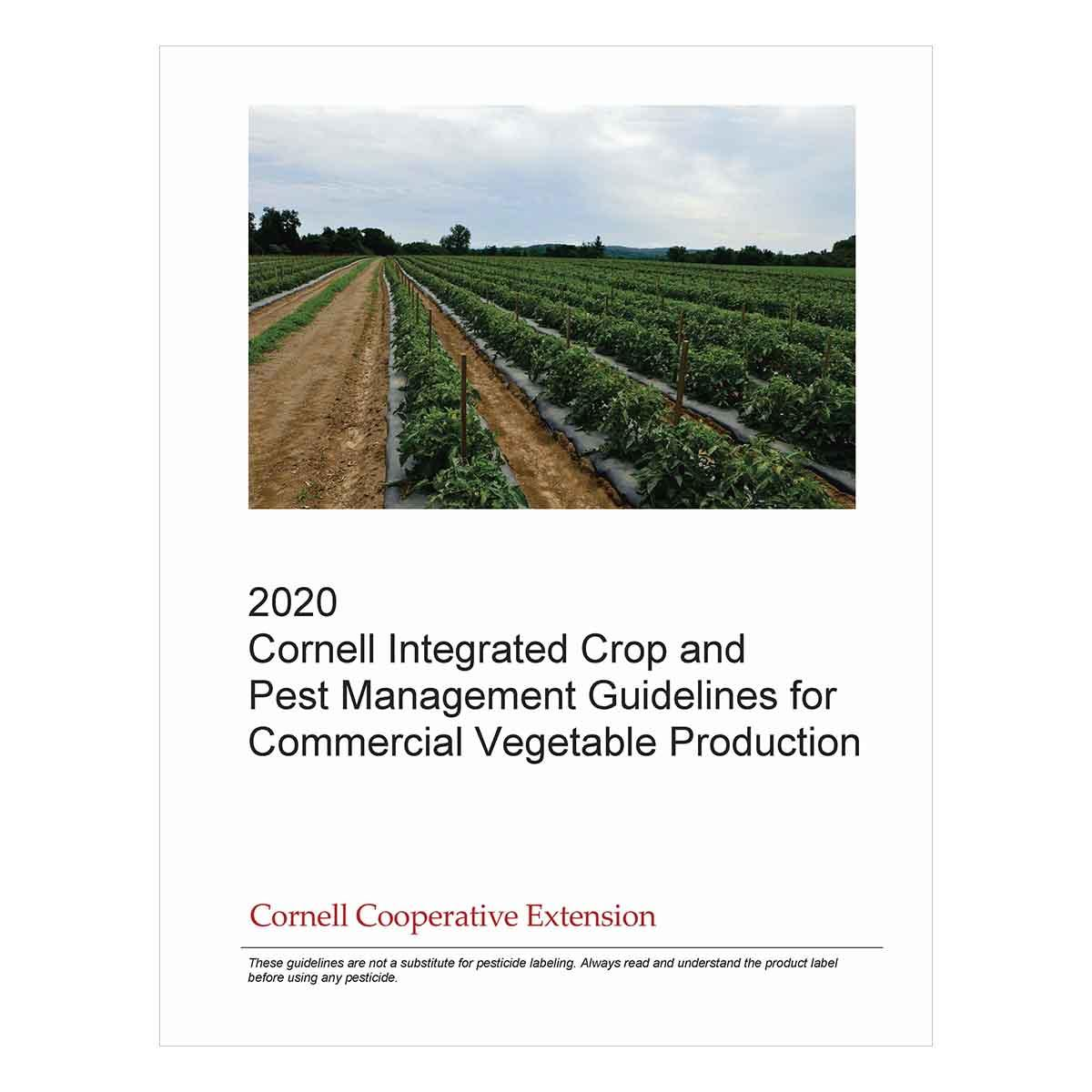 Integrated Crop And Pest Management Guidelines For