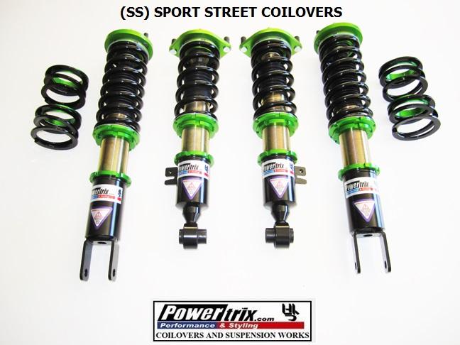 Powertrix (SS)Super Street Coilovers - 300ZX Z32