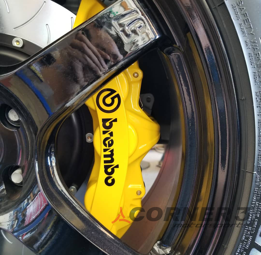 Brembo GT System Tesla Model 3 Front Big Brake Kit ...