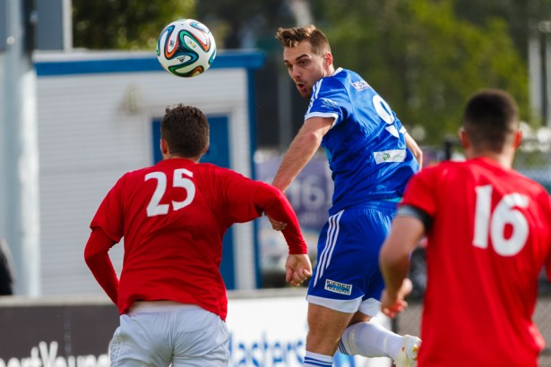 Ballarat Red Devils v South Melbourne FC, NPL Victoria Round 7, 3 May 2014.