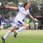 Ayres, Vine net match-winning doubles, Galaxy halt Alamein train
