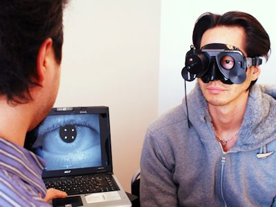 Vestibular Goggles
