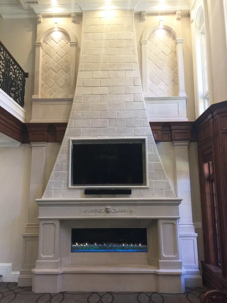 Custom Fireplace Mantel Design Cornerstone Architectural