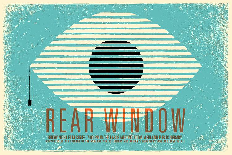 Affiche voor Rear Window