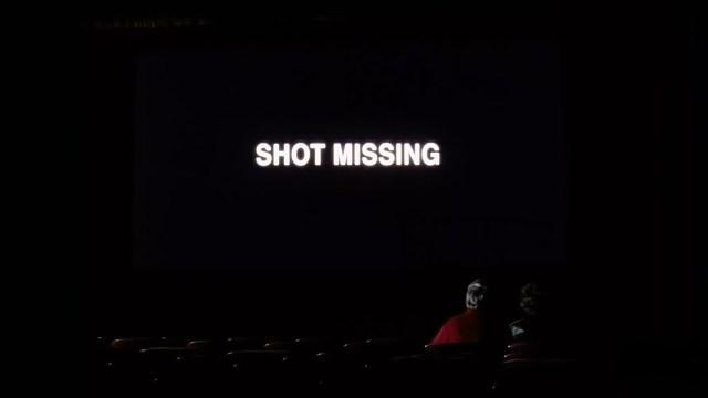 Shot missing, beeld uit de film