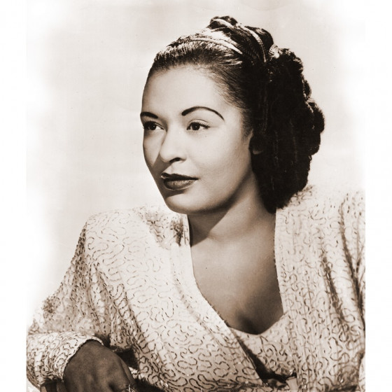 Portretfoto Billie Holiday