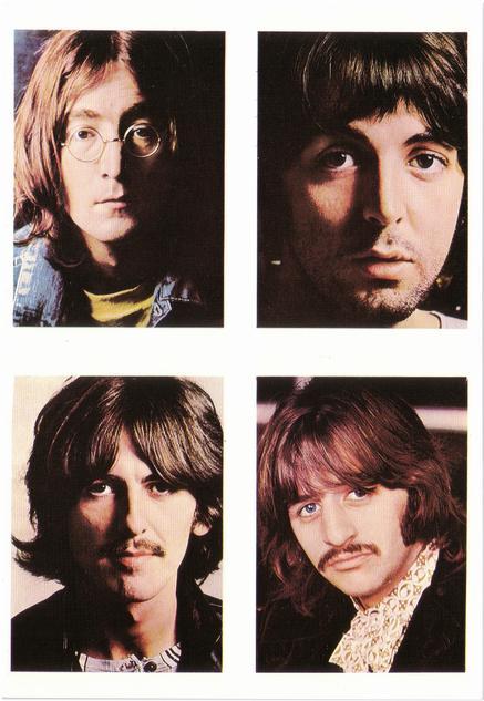 Foto's Beatles White Album