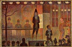 'La Parade de Cirque' (1889) van George Seurat.