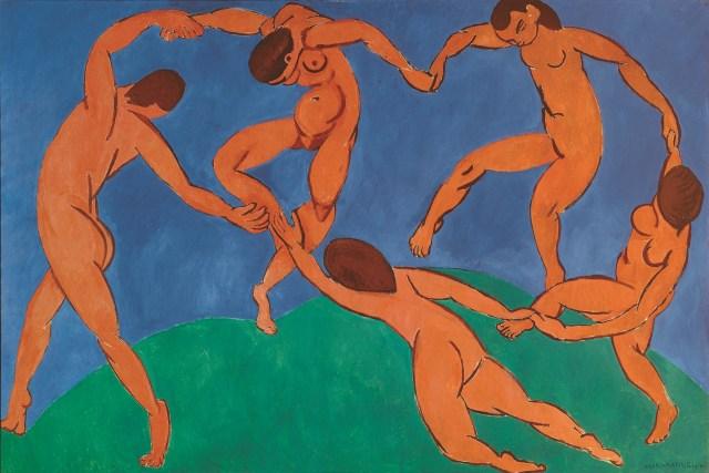 Matisse, 'La Danse', 2048 × 1368 cm, 1909.